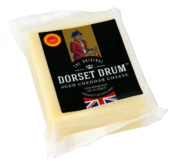 Dorset Drum Farmhouse Cheddar 200g