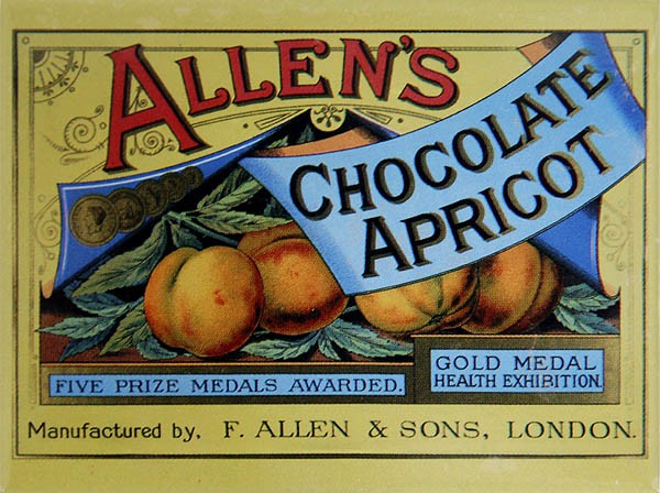 Magnet ´Allen´s Chocolate Apricot´