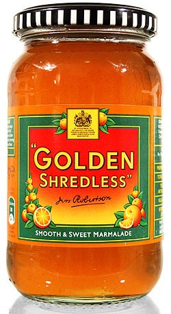 Robertsons Golden Shredless Orange Marmalade 454g - ohne Schale