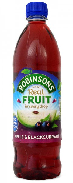 Robinsons NAS Apple & Blackcurrant