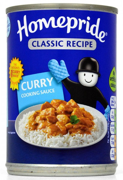 Homepride Curry Cook-In-Sauce