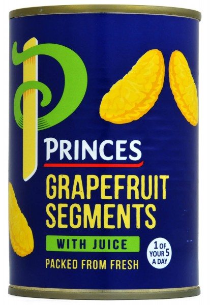 Princes Grapefruit Segments in Juice