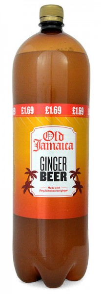 Old Jamaica Ginger Beer, Flasche 2 Liter