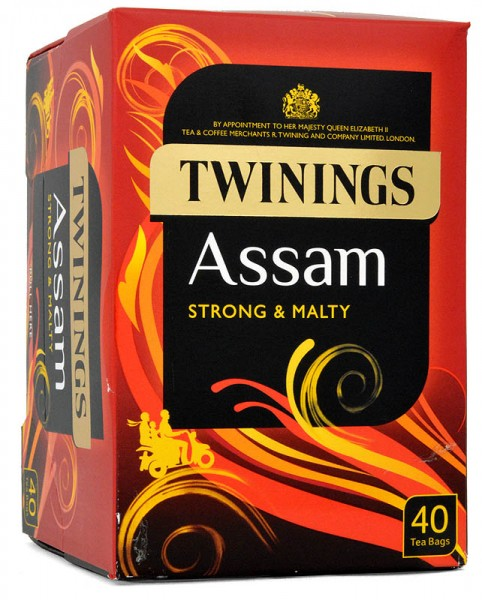 Twinings Assam 40 Tea Bags 100g