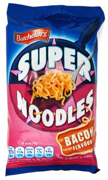 Batchelors Super Noodles Bacon Flavour