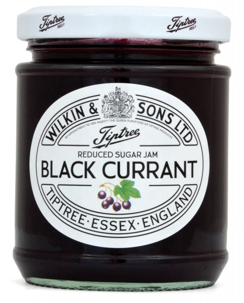 Wilkin & Sons Reduced Sugar Black Currant Jam 200g