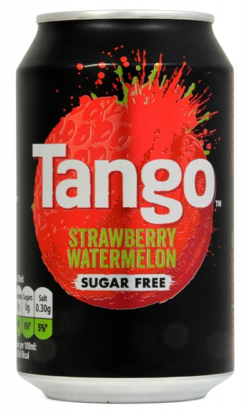 Tango Strawberry & Watermelon Soft Drink 330ml