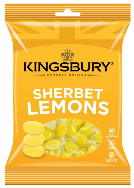 Kingsbury Lemon Sherbets 160g