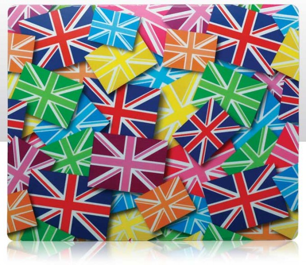 Multi Union Jack Mouse Mat - Mauspad