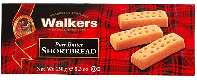 Walkers Pure Butter Shortbread Fingers 150g