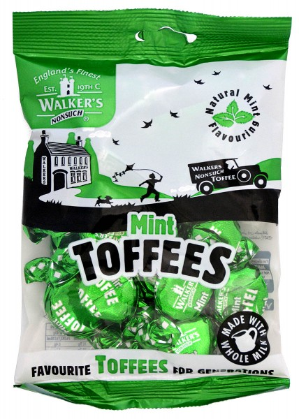 Walkers Nonsuch Mint Toffees 150g