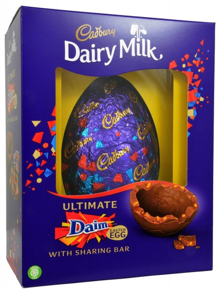 Cadbury Ultimate Daim Egg 570g