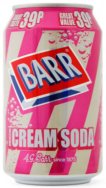 Barr American Cream Soda Dose 330ml