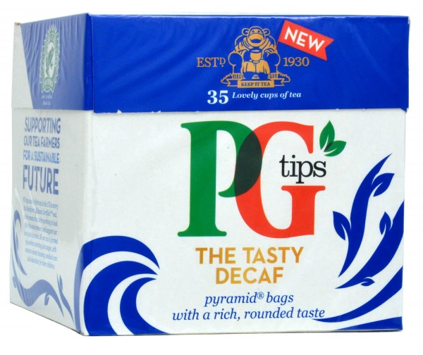 PG Tips Decaf 35 Teebeutel