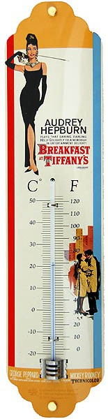 Thermometer ´Audrey Hepburn - Breakfast at Tiffany´s´