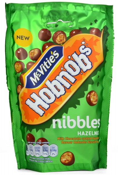 McVities Hobnobs Nibbles Hazelnut