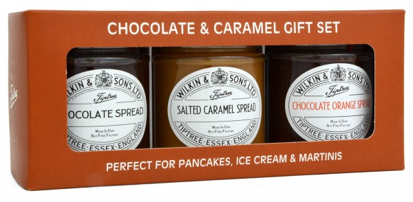 Wilkin & Sons Chocolate & Caramel Gift Set 620g MHD 01/2020
