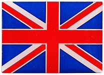 Union Jack Rectangular Pin