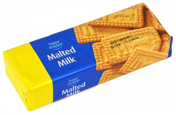 Happy Shopper Malted Milk Biscuits 200g