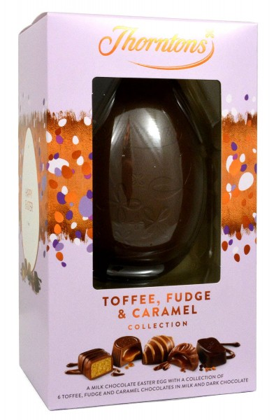 Thorntons Toffee, Fudge & Caramel Collection Egg 203g