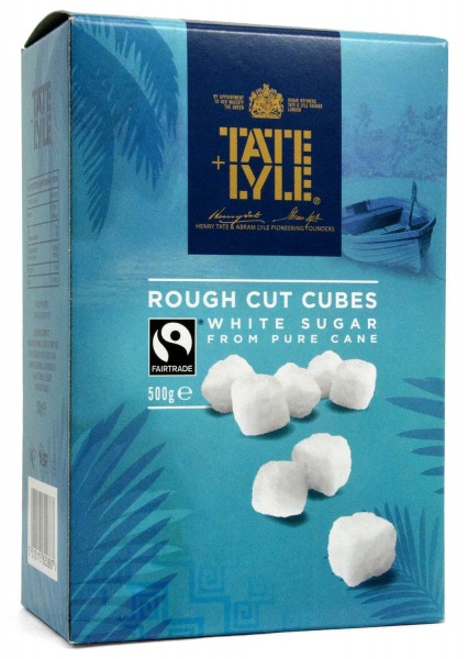 Tate+Lyle Rough Cut White Sugar Cubes 500g