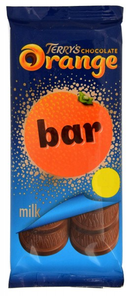 Terrys Chocolate Orange Bar Milk 90g