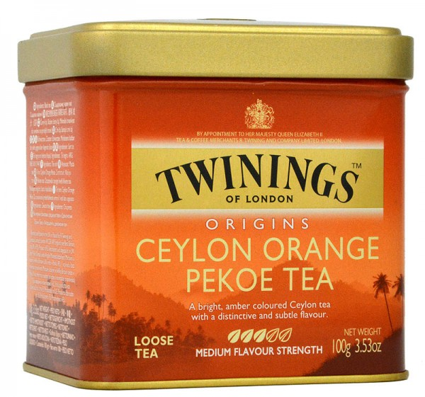 Twinings Ceylon Orange Pekoe Tea 100g lose