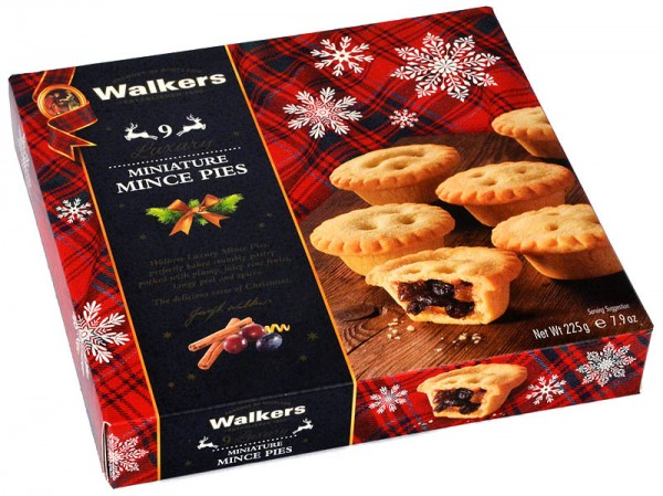 Walkers 9 Luxury Miniature Mince Pies 225g