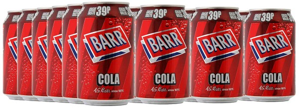 Barr Cola 24 x 330ml Dosen