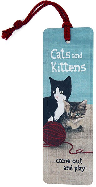 Bookmark / Lesezeichen ´Cats and Kittens´