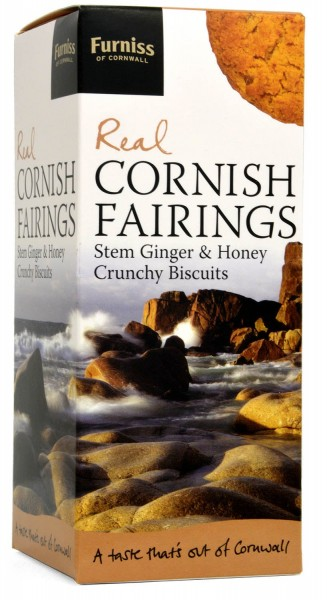 Furniss Real Cornish Fairings Ginger & Honey Biscuits 200g