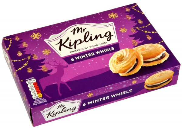 Mr. Kipling 6 Winter Whirls MHD 24.12.2020