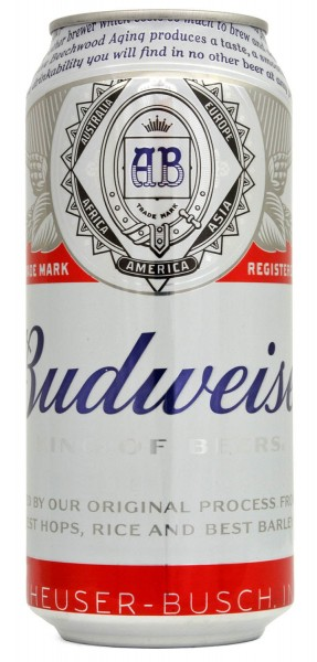 Budweiser King of Beers 440ml