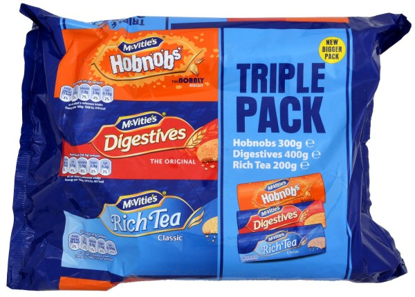 McVities Triple Pack 900g