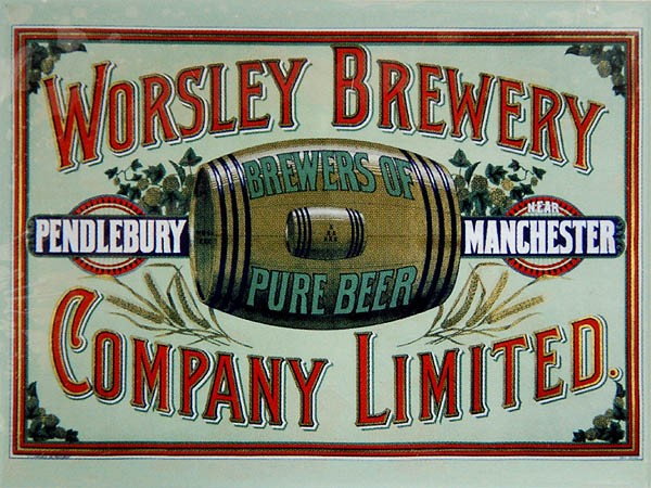 Magnet ´Worsley Brewery´