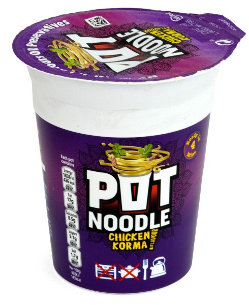 Pot Noodle Chicken Korma 90g