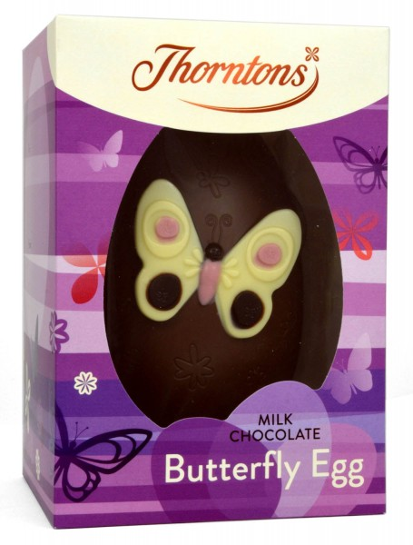 Thorntons Milk Chocolate Miss Flutterby Egg