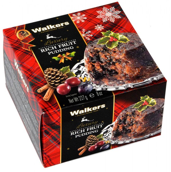Walkers Luxury Christmas Pudding 227g
