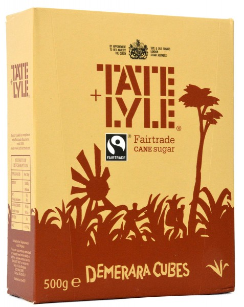 Tate+Lyle Fairtrade Brown Sugar Cubes for Coffee
