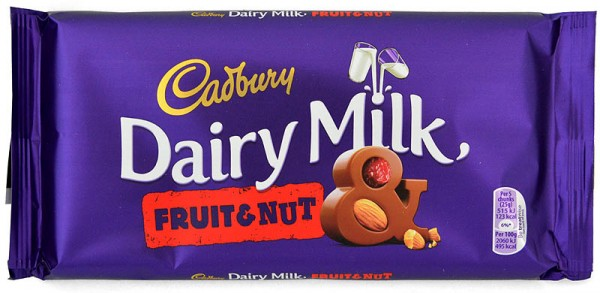 Cadbury Dairy Milk Fruit & Nut 200 g