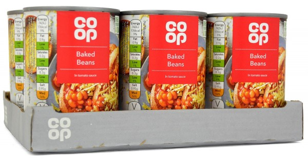 Co-op Baked Beans in Tomato Sauce 6 x 400g