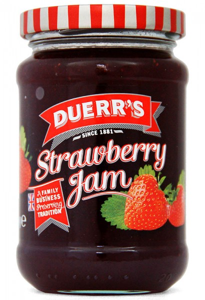 Duerr´s Strawberry Jam 340g