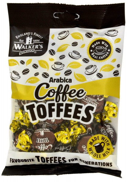 Walkers Nonsuch Arabica Coffee Toffees 150g