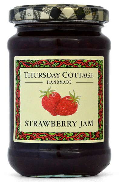Thursday Cottage Strawberry Jam 340g - Erdbeere