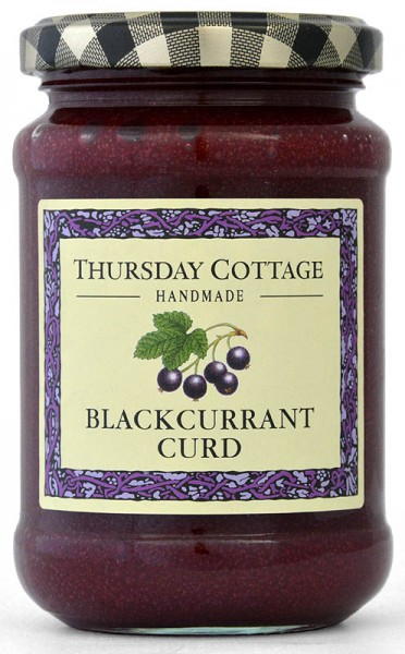 Thursday Cottage Blackcurrant Curd 310g - Schwarze Johannisbeere