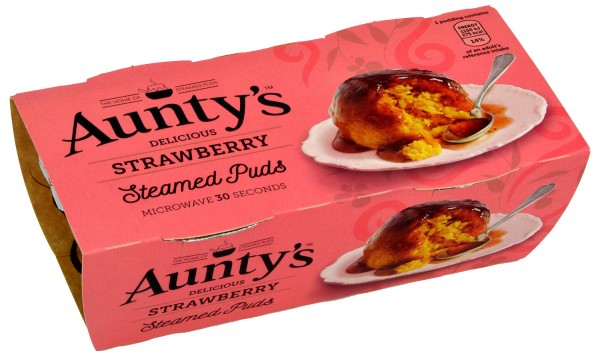 Aunty´s Strawberry Sauce Steamed Puddings - Dessert-Kuchen