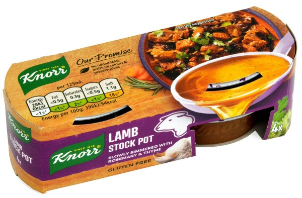 Knorr Lamb Stock Pot 4 x 28g Lammfond