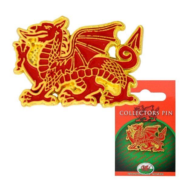 Welsh Dragon Wales Pin