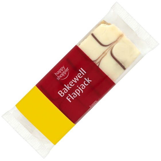 Happy Shopper Bakewell Flapjack 100g