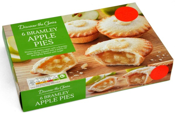 Discover the Choice 6 Bramley Apple Pies